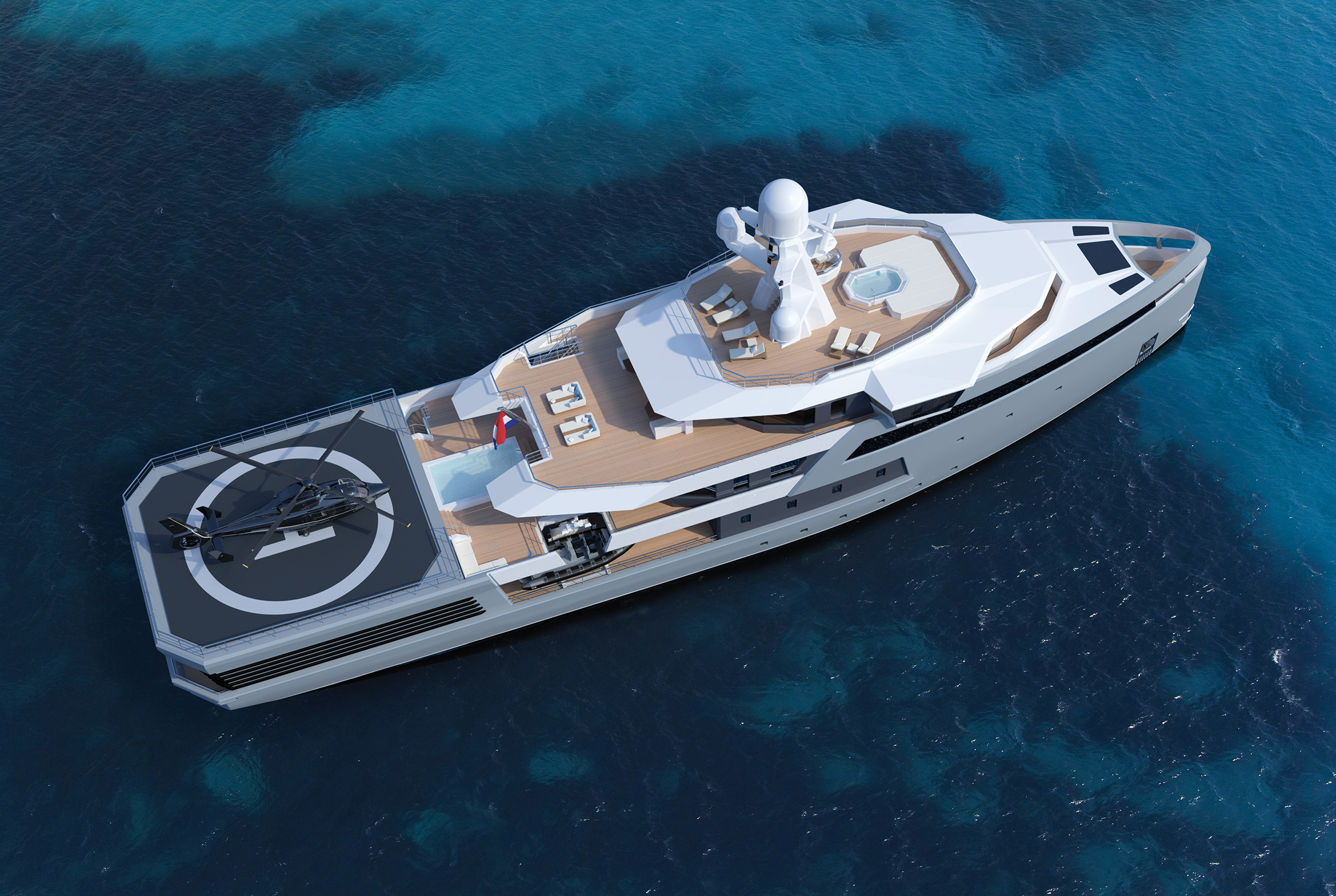 SeaExplorer 65 - Tropical overview - rendering