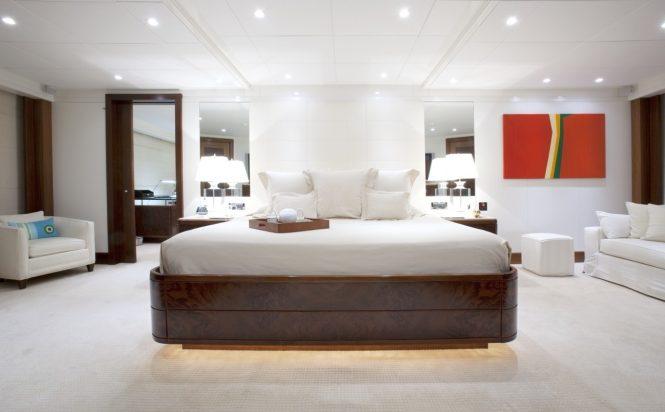 Spacious and elegant master suite
