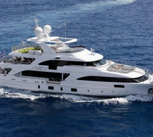Special Charter Rate offered by 37m Benetti superyacht EDESIA in Italy