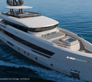 Lynx Yachts collaborates with Omega Architects and Van Oossanen on new 37-metre superyacht