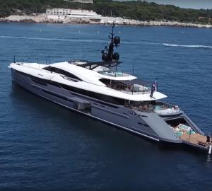 Watch: On board stunning new superyacht Utopia IV