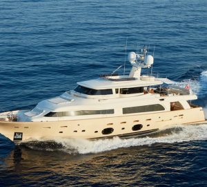 Enjoy 8 days for the price of 7 with 33m charter yacht DEVA in the Balearics