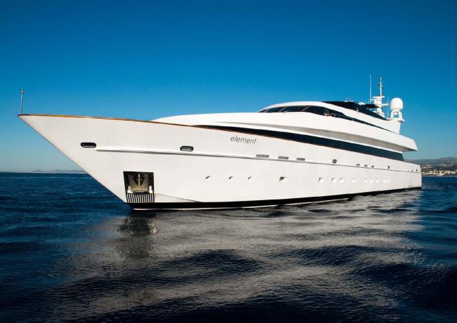 43m ELEMENT motor yacht
