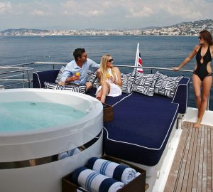 Reduced rates for all charters aboard motor yacht ASHA