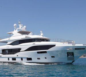 Luxury yacht Project BM004, Benetti's 4th Mediterraneo 116'