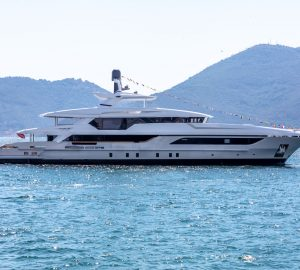 Baglietto launches second 48m T-Line motor yacht hull 10228
