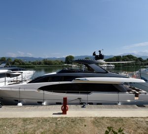 13th Sanlorenzo SL78 superyacht named Barracuda and delivered to owner