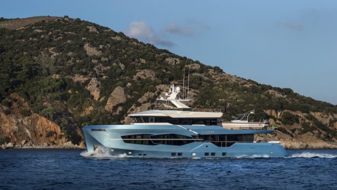 CALLIOPE motor yacht by NUMARINE - second 32XP hull