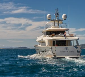 Ferreti yacht SEVENTH SENSE is offering 20% off in Montenegro, Croatia and Slovenia