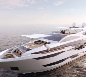 Pearl Yachts Flagship superyacht Pearl 95 hits the water