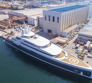 88.5-metre superyacht Illusion Plus completed