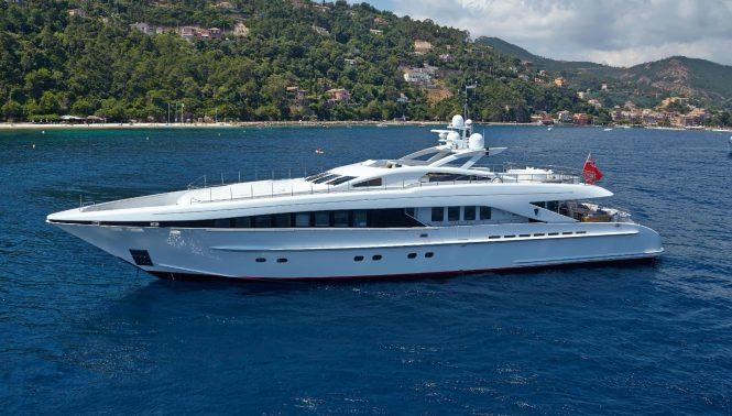 HER DESTINY built by Heesen Yachts