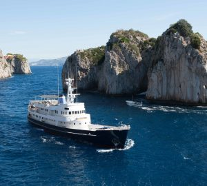Discounted West Med Superyacht Charters with 43m ex-ice breaker ICE LADY