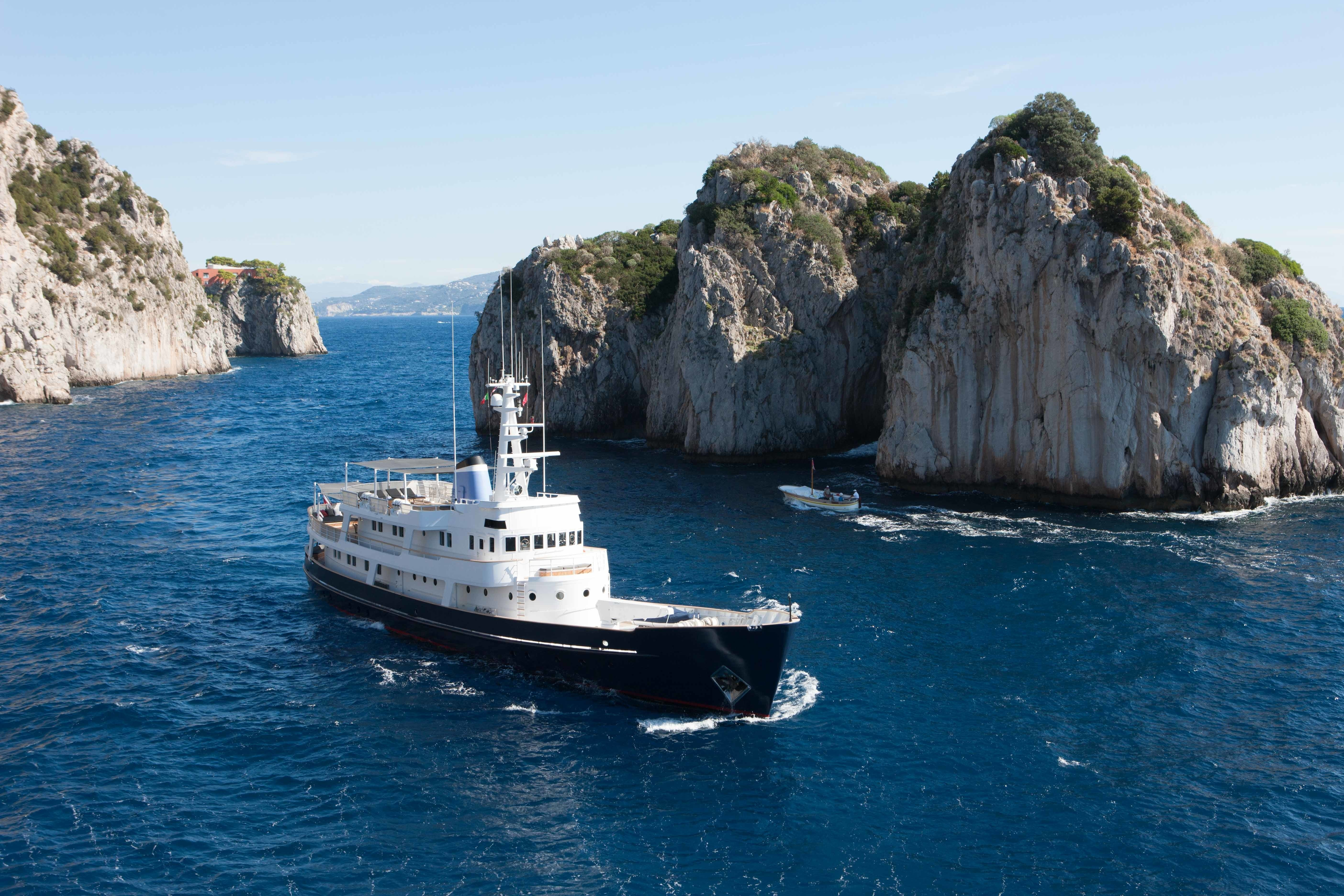 ICE LADY available for charter in the Western Mediterranean