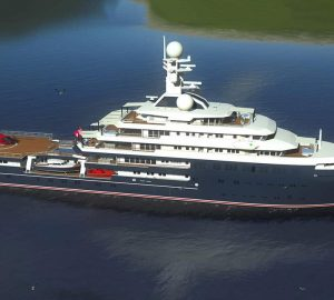 Lurssen releases new concept images of luxury yacht Project Icecap