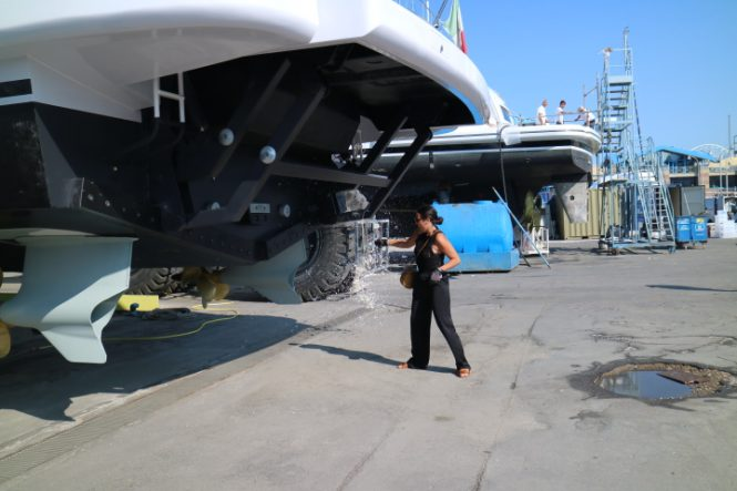 Launch and christening ceremony