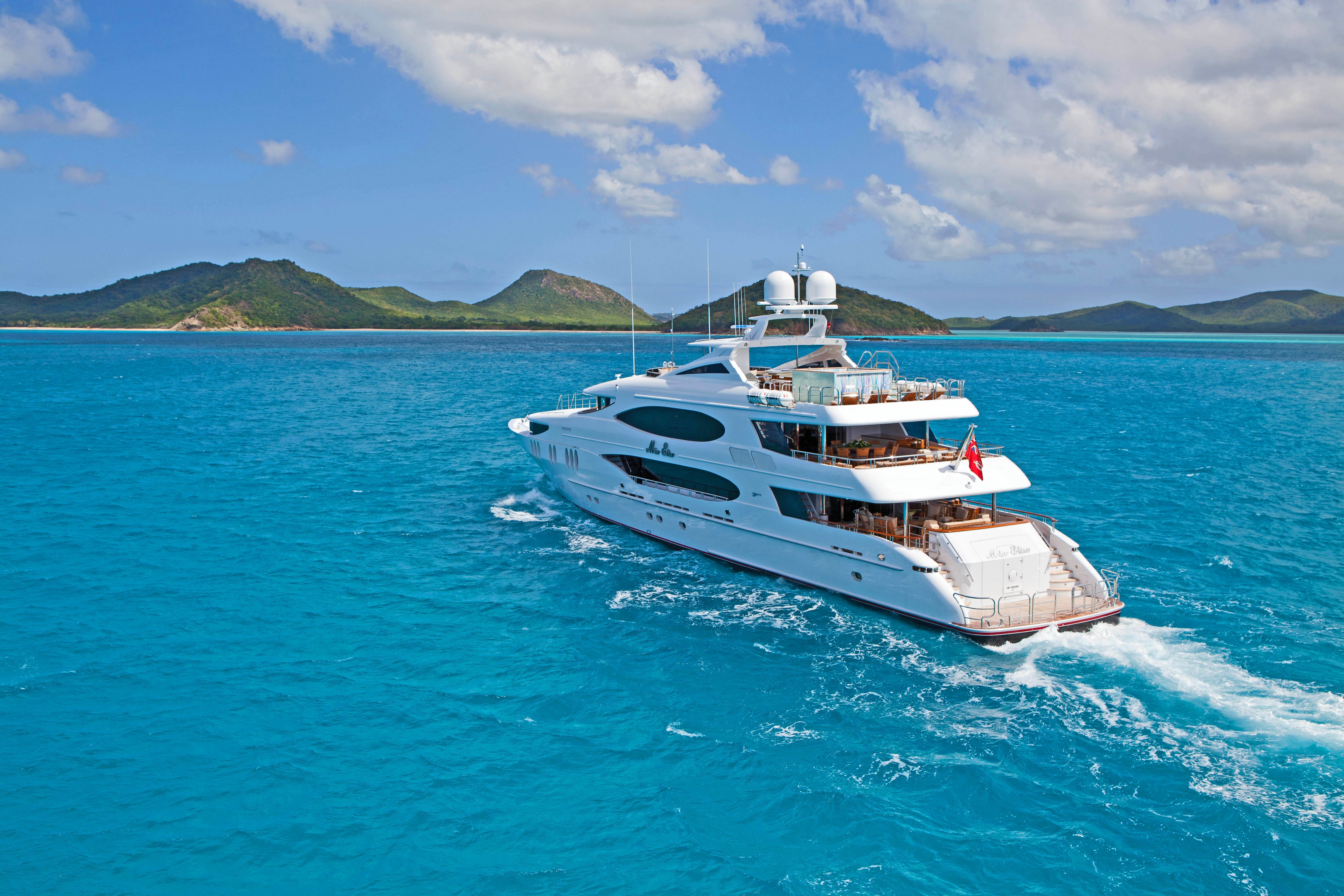 Luxury motor yacht IMPROMPTU available for charter in the Mediterranean