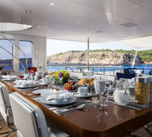 43m Feadship GO superyacht charter special in Balearics