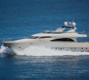 28m motor yacht VELLMARI available at reduced price in Croatia