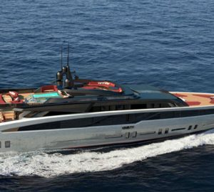 Luxury yacht Project Bandida - The first concept from GR Design House