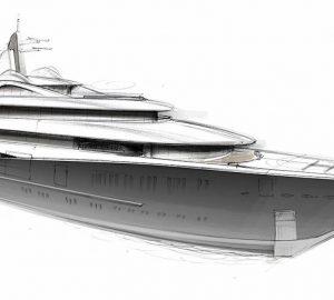 Lurssen 111m Mega Yacht Project TIS launched