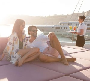 Special Offer for August Charters onboard luxury yacht ST DAVID