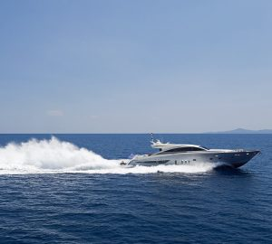 28m SUN ANEMOS offers 15% off Greece yacht charters this September