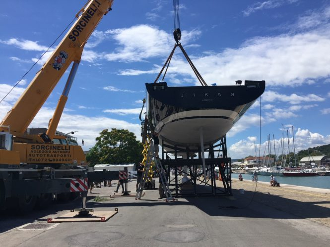 Sailing yacht JIKAN launched