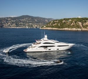 Sunseeker THUMPER offering 15% discount on West Med Yacht Charters