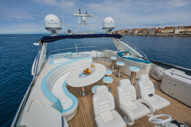 Vellmari available for charter in the Mediterranean