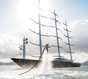 20% OFF all charters aboard 88m MALTESE FALCON in September