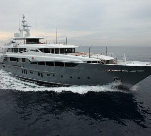46m superyacht 2 LADIES available for Caribbean winter yacht charter