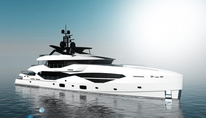 49m Sunseeker by ICON superyacht concept