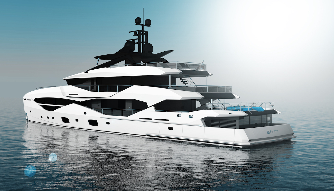 49m Sunseeker by ICON superyacht concept - aft view