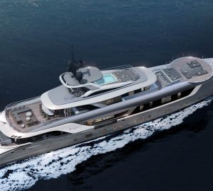 55m Superyacht S-Force under construction at Admiral Yachts