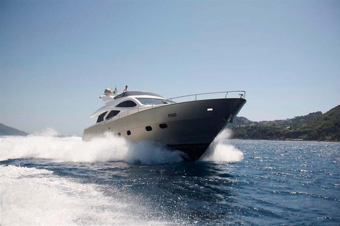 BLUE ANGEL available for yacht charter