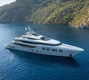 Superyacht BILGIN 220 under construction with launch date in 2021