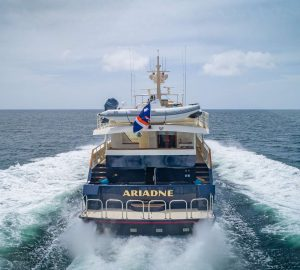 38m charter yacht ARIADNE offering reduced early-bird rates in Bahamas
