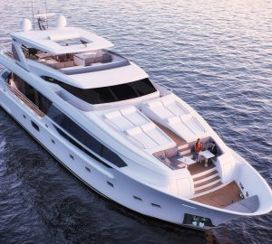 First CC115 superyacht from Horizon prepares for delivery