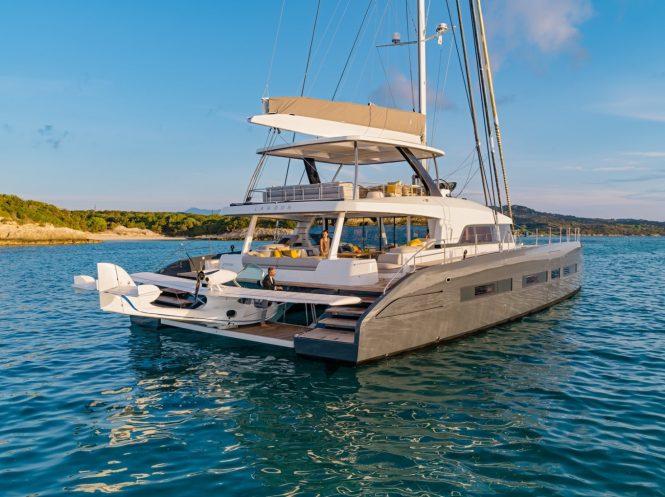 Catamaran sailing yacht JOY