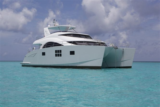 Catamaran yacht FOREVER