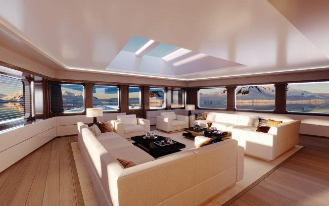 DAMEN SeaXplorer 75 - Observation Lounge