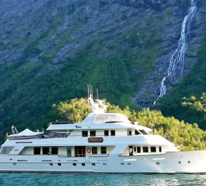 Charter yacht DAYDREAM offering 15% off cruising Northern Europe's Sweden