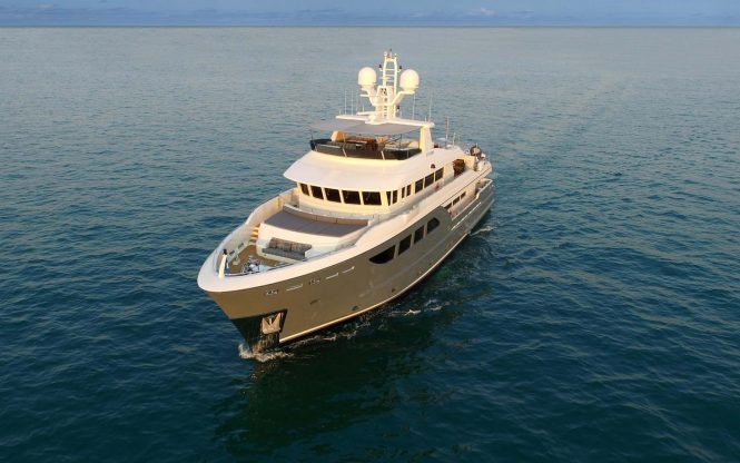 Darwin Class 107 motor yacht STORM - Photo credit Cantiere delle Marche