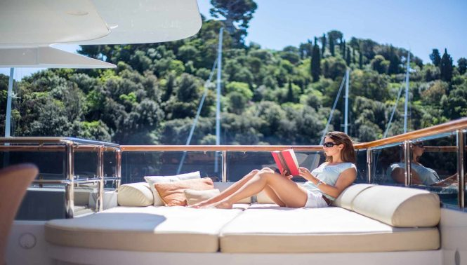 Enjoy Luxury Yacht Charter Vacation Aboard Diane