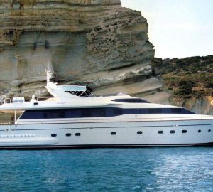 Grab this great Last-Minute charter special in Greece with charter yacht FALCON ISLAND