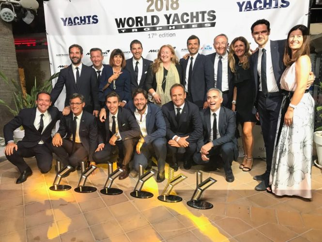 Ferretti Group WORLD YACHTS TROPHIES 2018