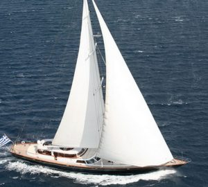 Sailing Yacht GITANA offering last minute charter special in Greece