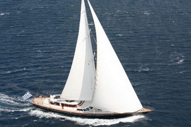 GITANA sailing yacht constructed by Perini Navi