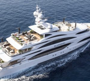 Yacht Charter Special for Hero World Challenge Golf Tournament with 58m ILLUSION V